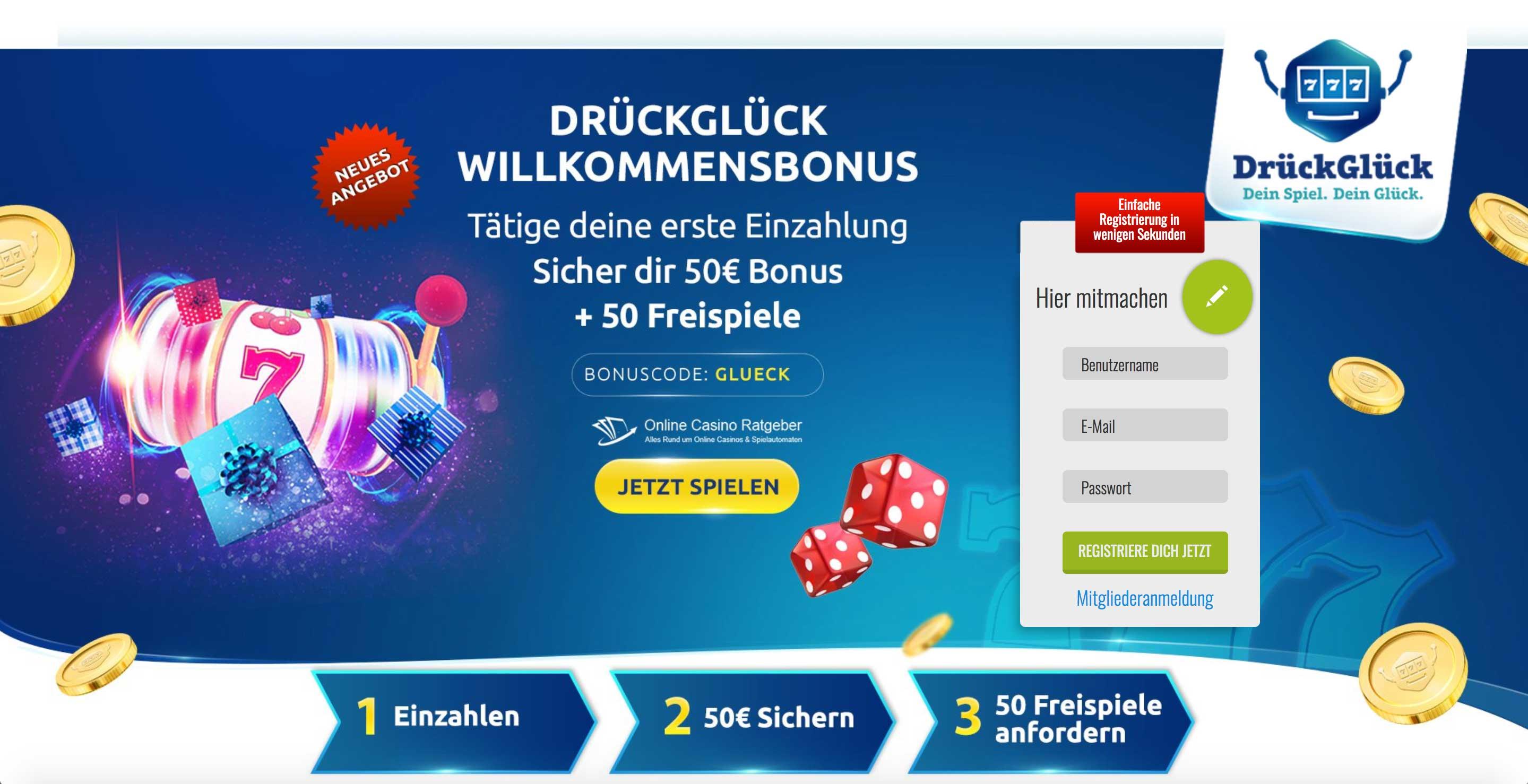 DrückGlück Online-Casino-Ratgeber.de