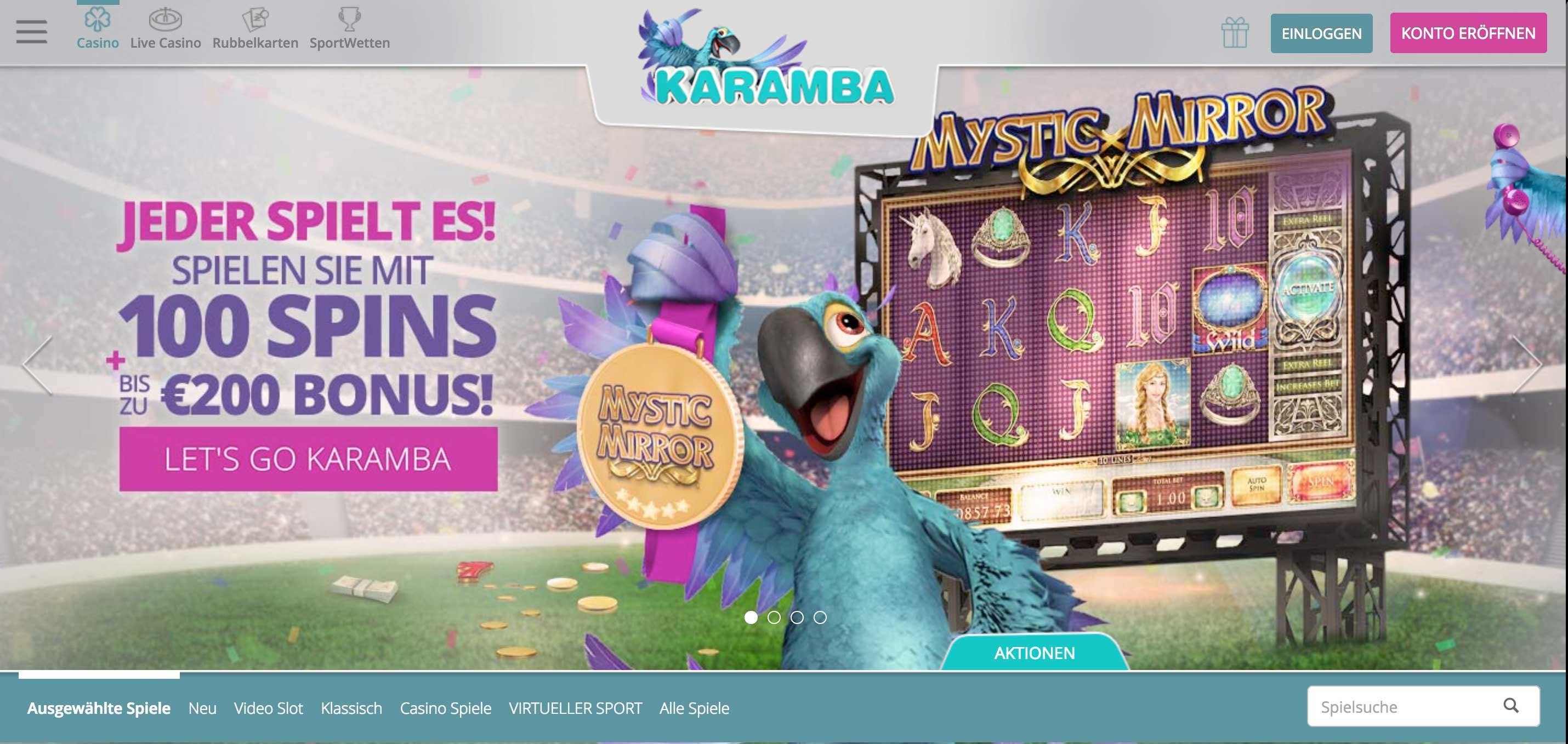 Karamba Online Casino - Kostenlos Jewel Spielen