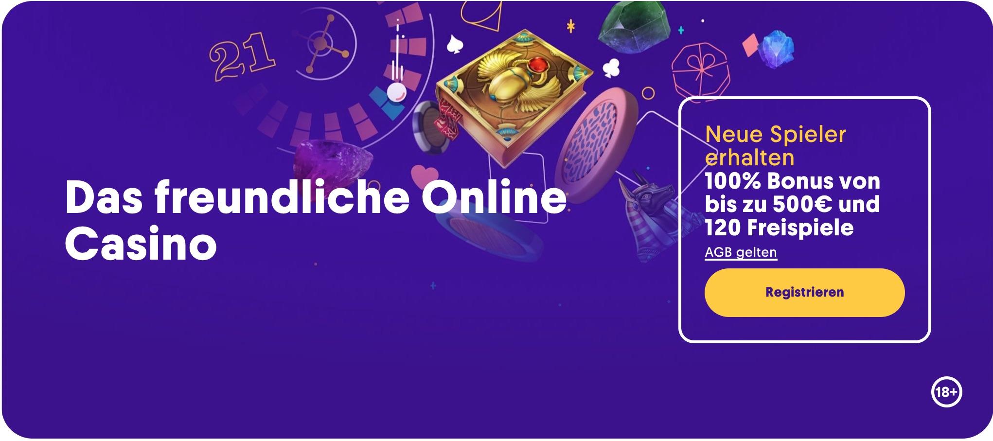Casumo Homepage