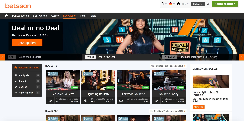 Betsson Casino Auszahlung Dauer