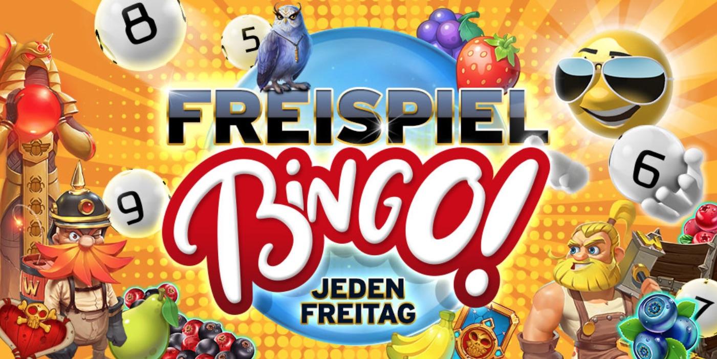Sunnyplayer Freitag Freispiel Bingo
