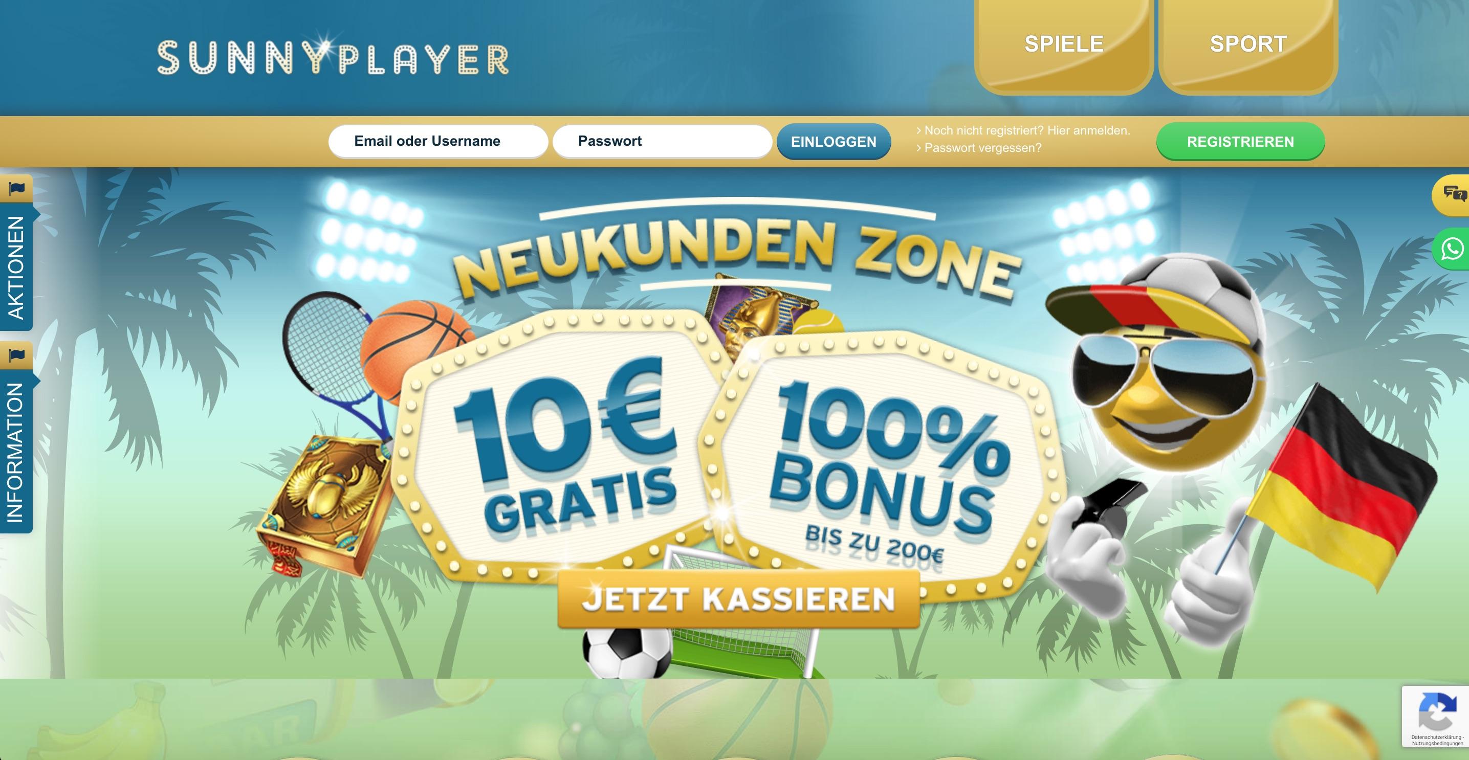SunnyPlayer Homepage