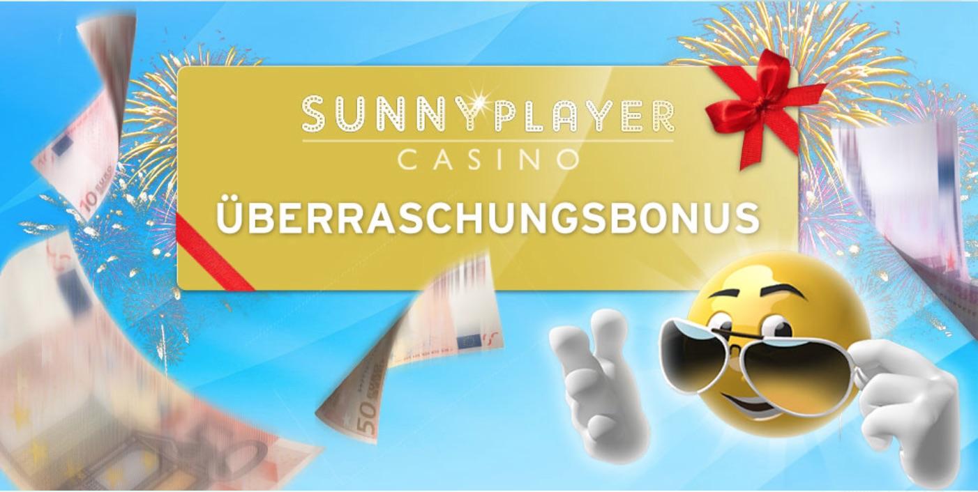SunnyPlayer Überraschungsbonus