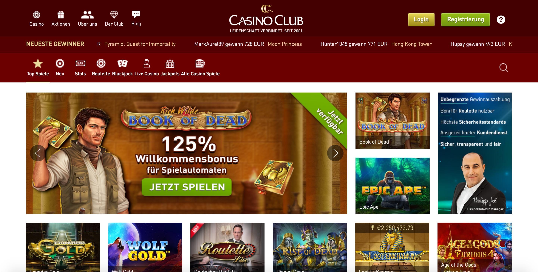 Casino Club Abzocke