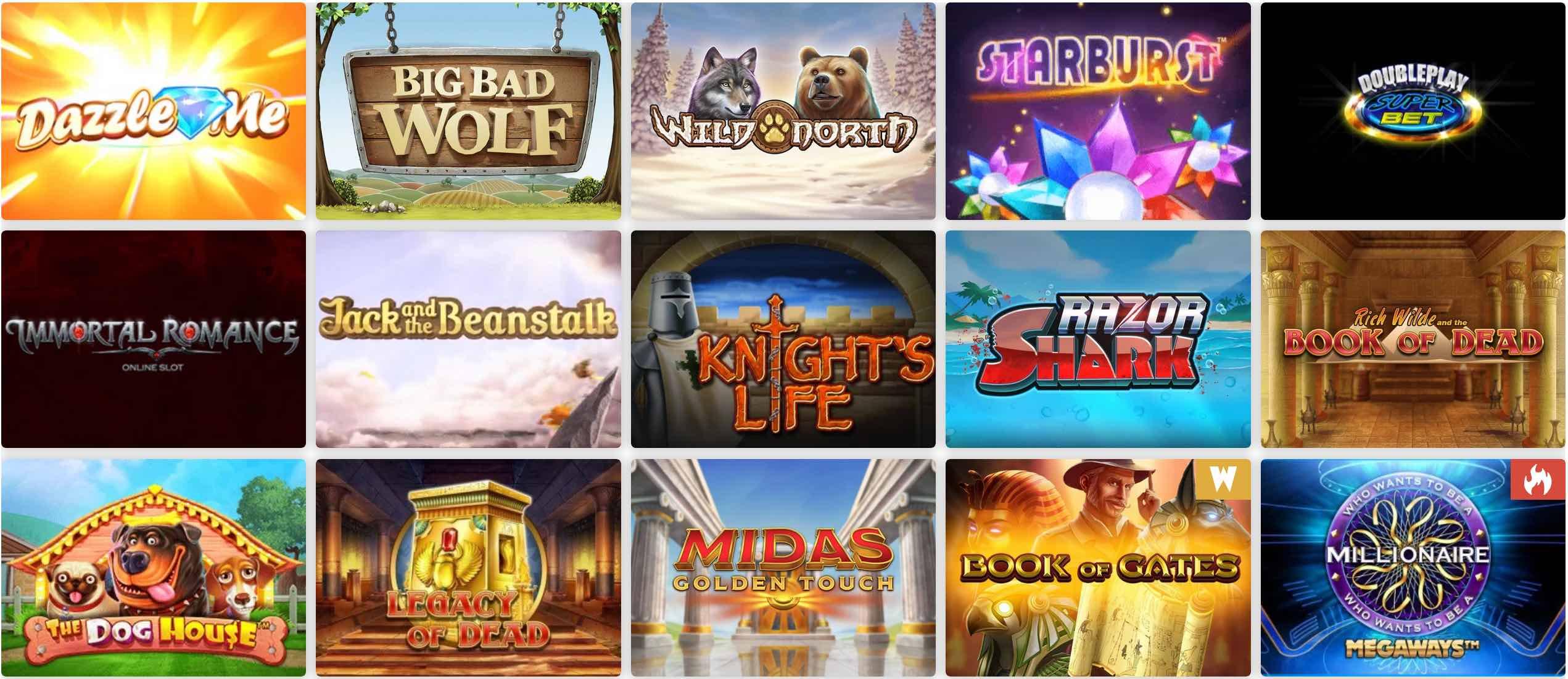 Wunderino Spiele
