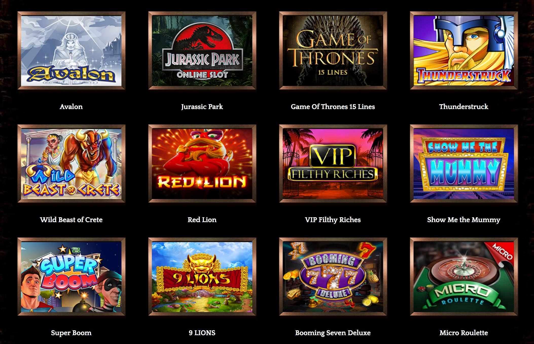 Bronze Casino Spiele