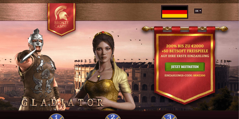Bronze Casino Website