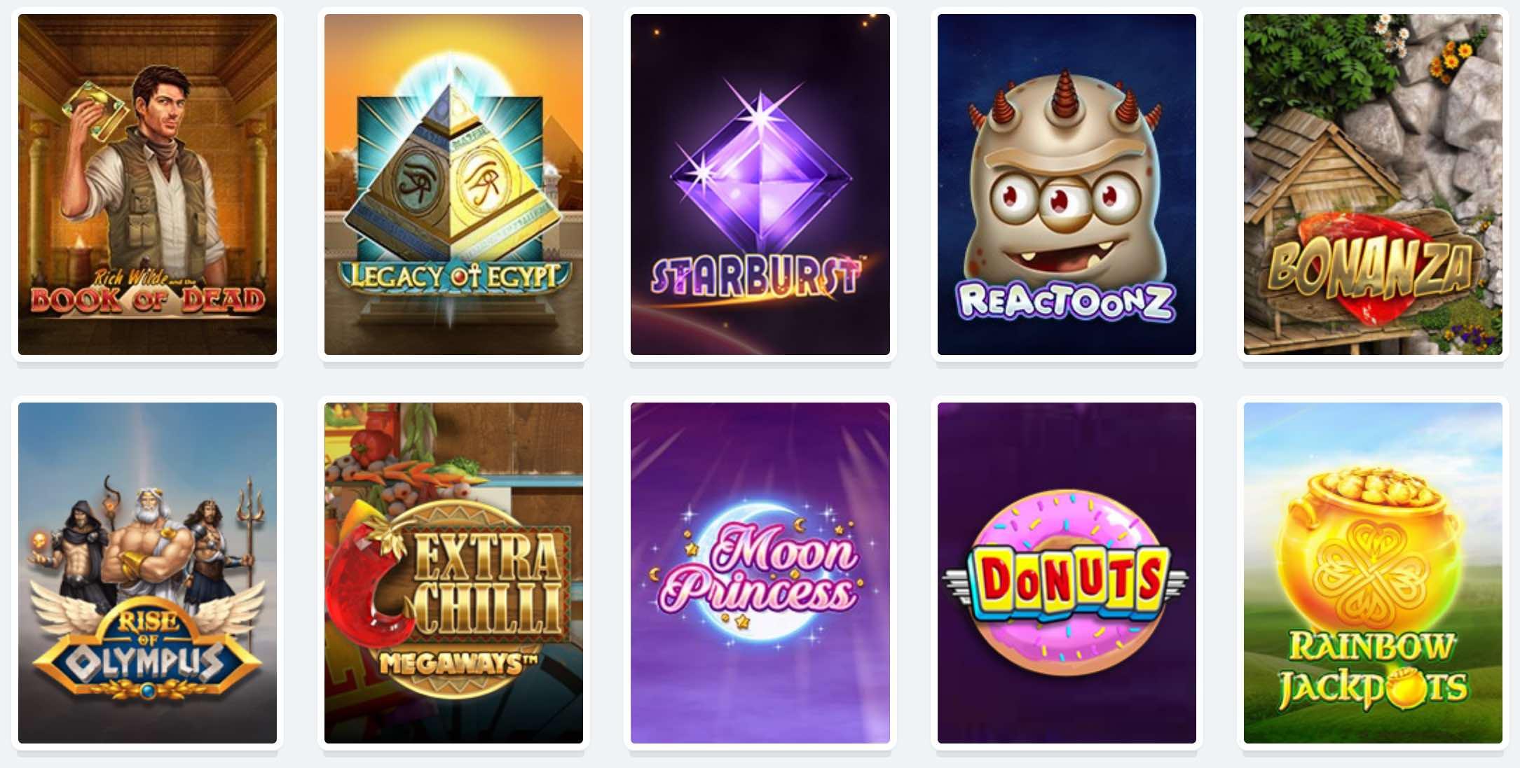 Spielautomaten und Slots