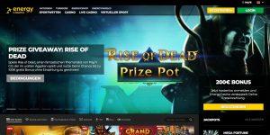 Energy Casino Website