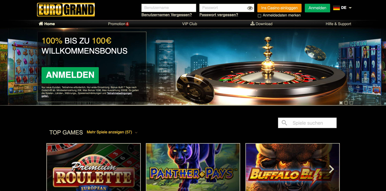EuroGrand Homepage