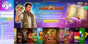 Ojo Casino Homepage