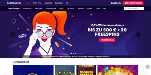 PartyCasino Website