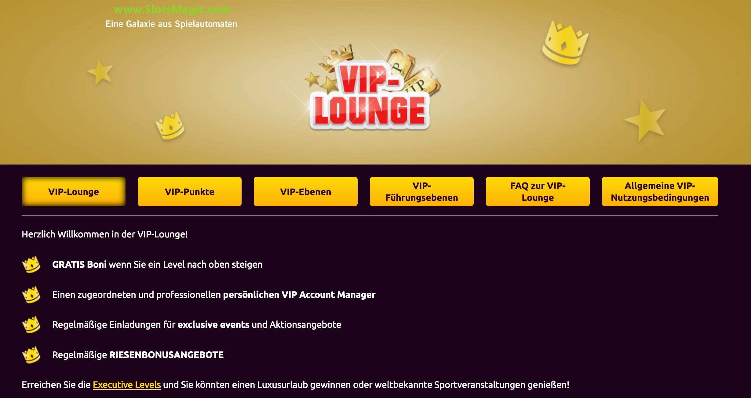 Magic Slots VIP Lounge
