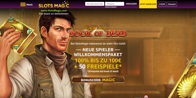 Slots Magic Website