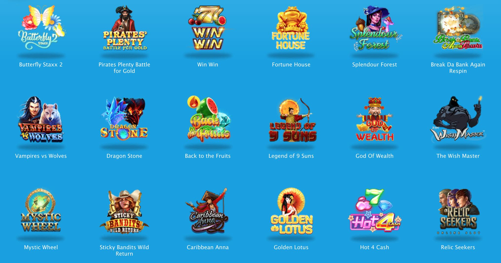 Casino Spiele von Vera und John