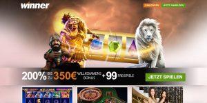 Winner Casino Homepage