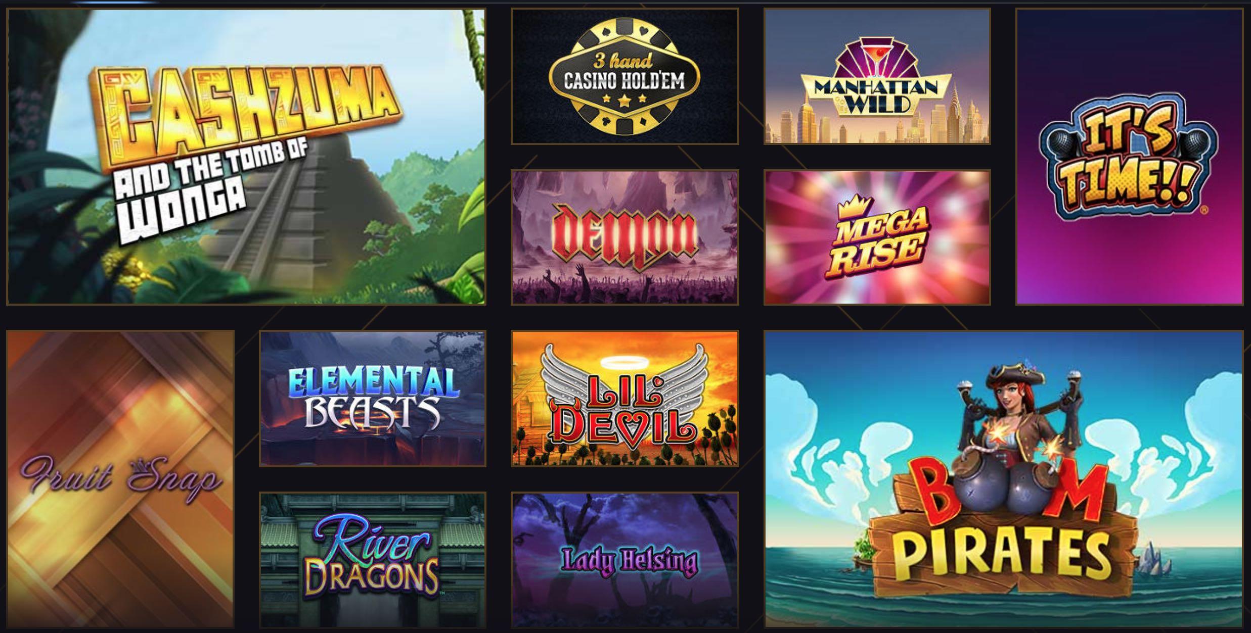 Casino Tisch und Spielautomaten