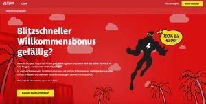 Blitzino Homepage