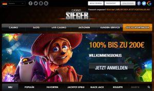 Casino Sieger Webseite