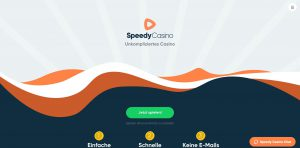 Speedy Casino Webseite