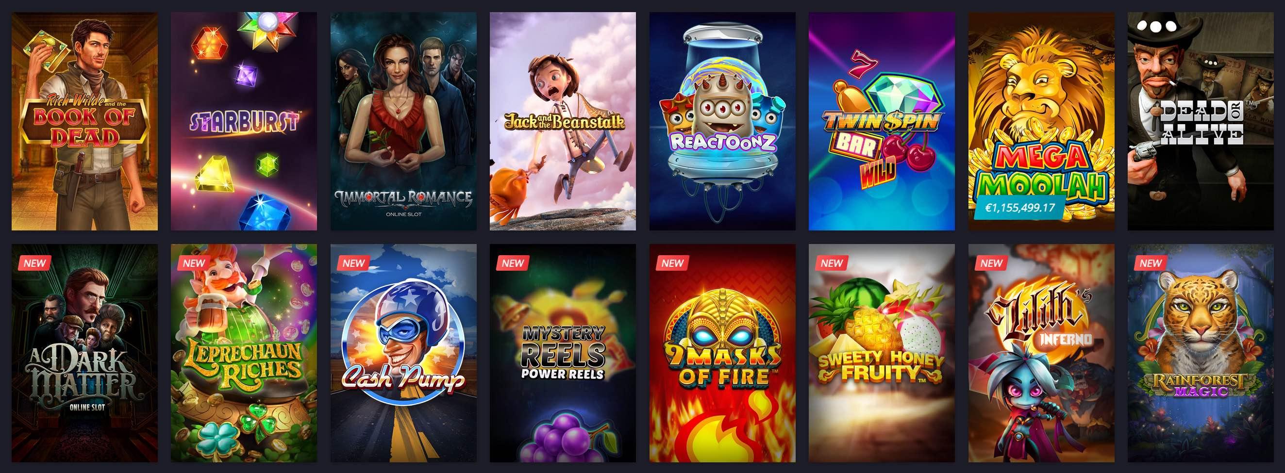 Beliebte Spiele