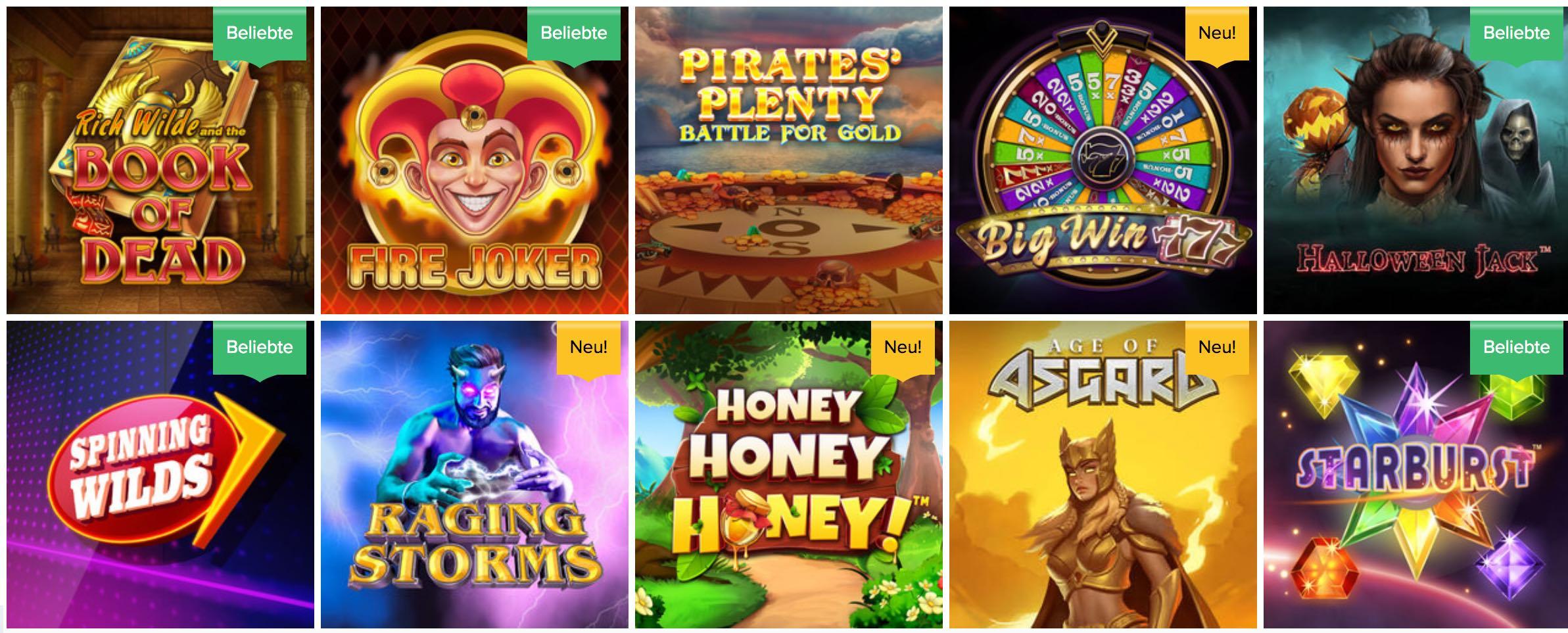 Spielautomaten Spiele