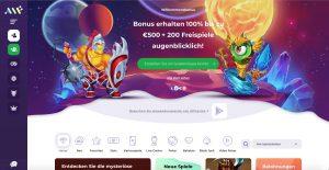 Alf Casino Homepage