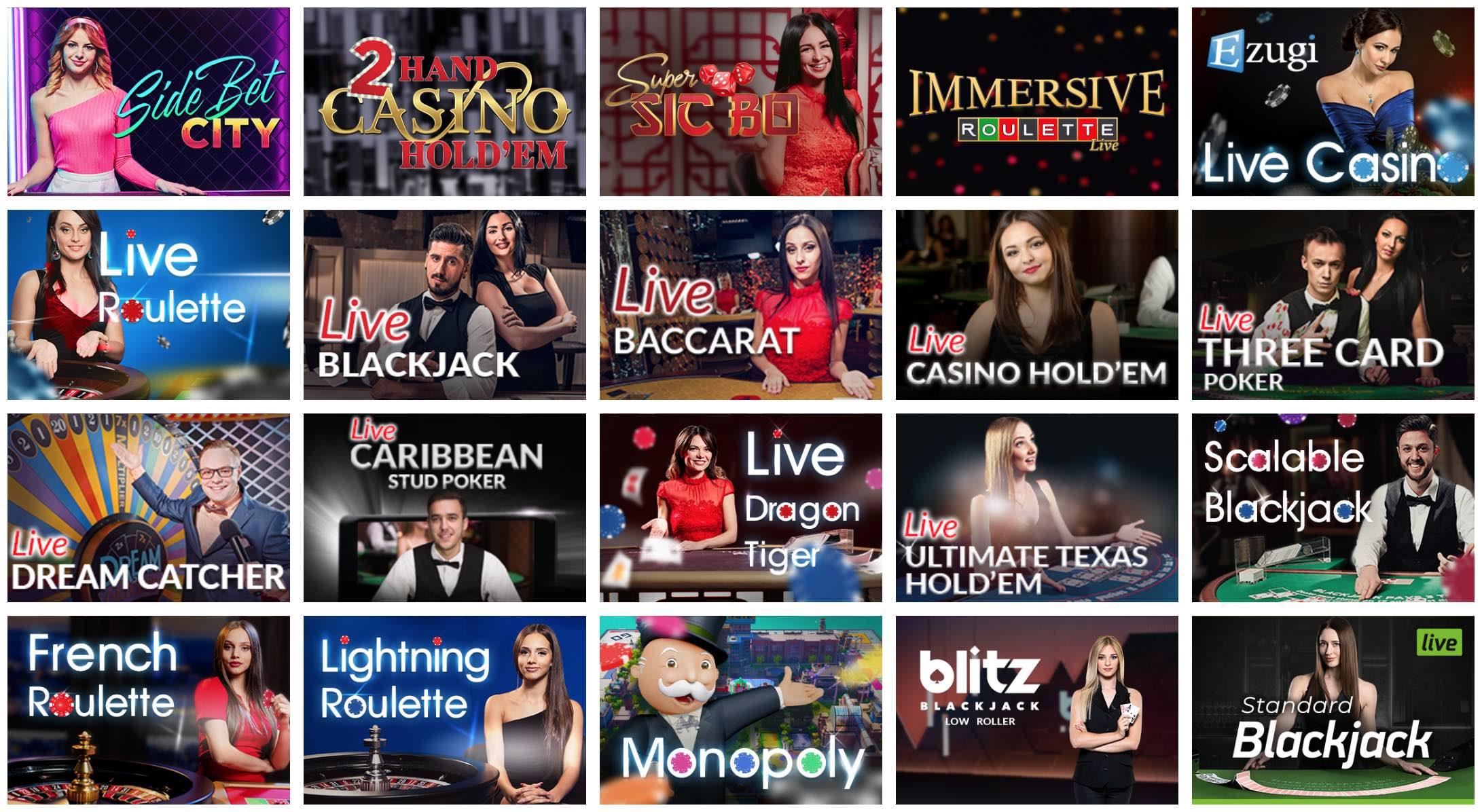 Alf Live Casino mit echten Live Dealern