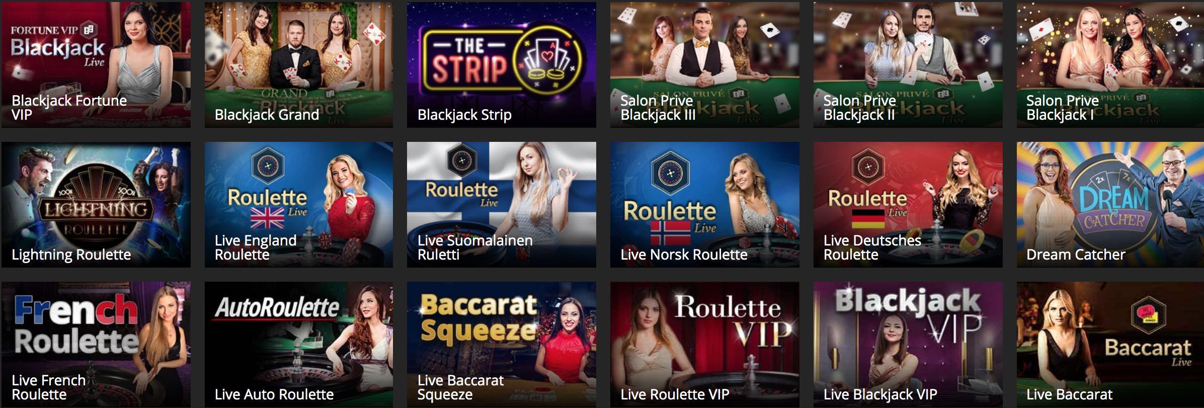 Barbados Casino Live Spiele