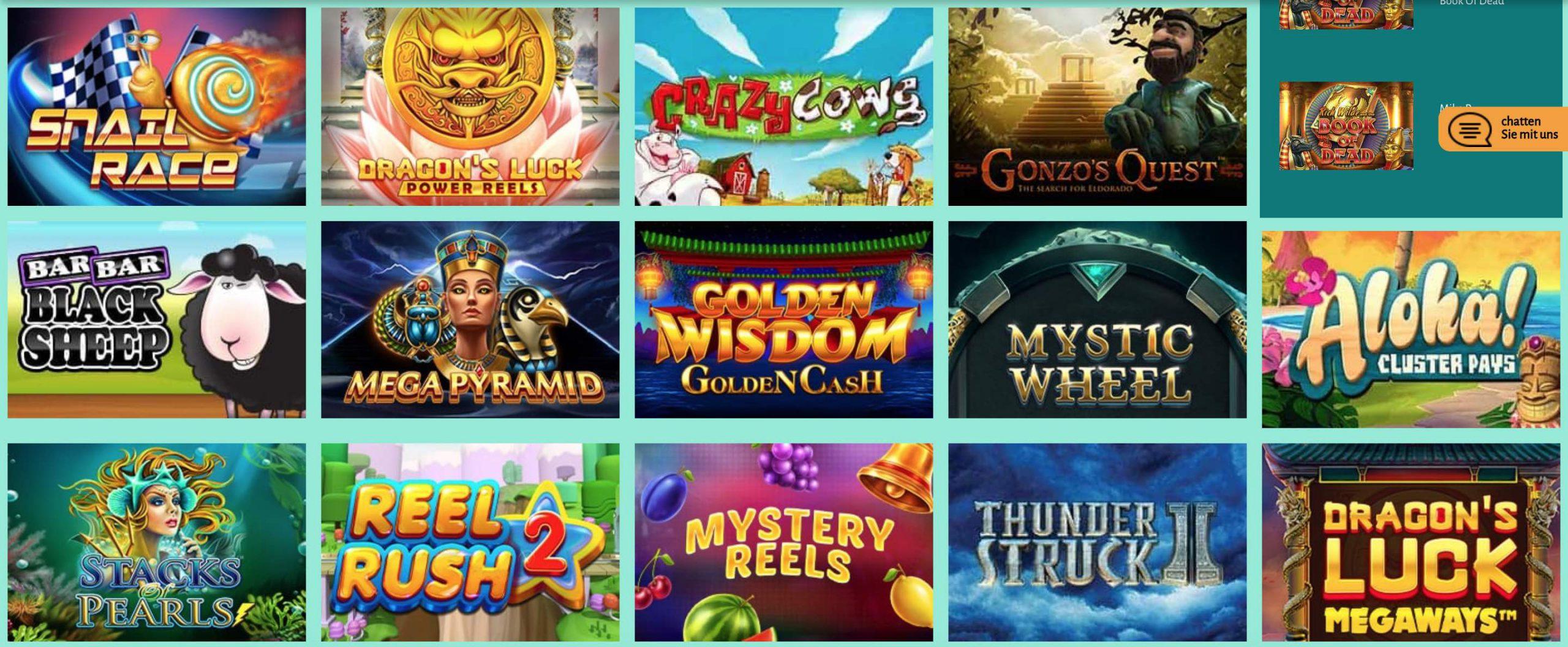 Slot Spielautomaten Spiele