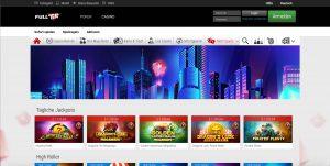 Full Tilt Casino Homepage