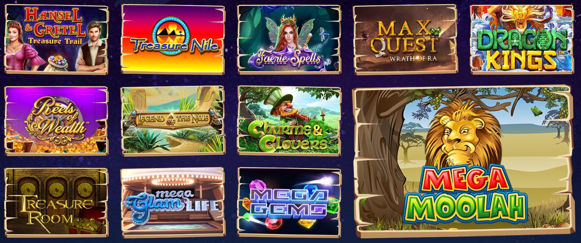 Progressive Mega Jackpot Slot Spiele