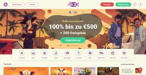 YoYo Casino Homepage