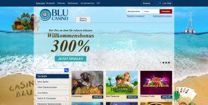 BLU Casino Homepage