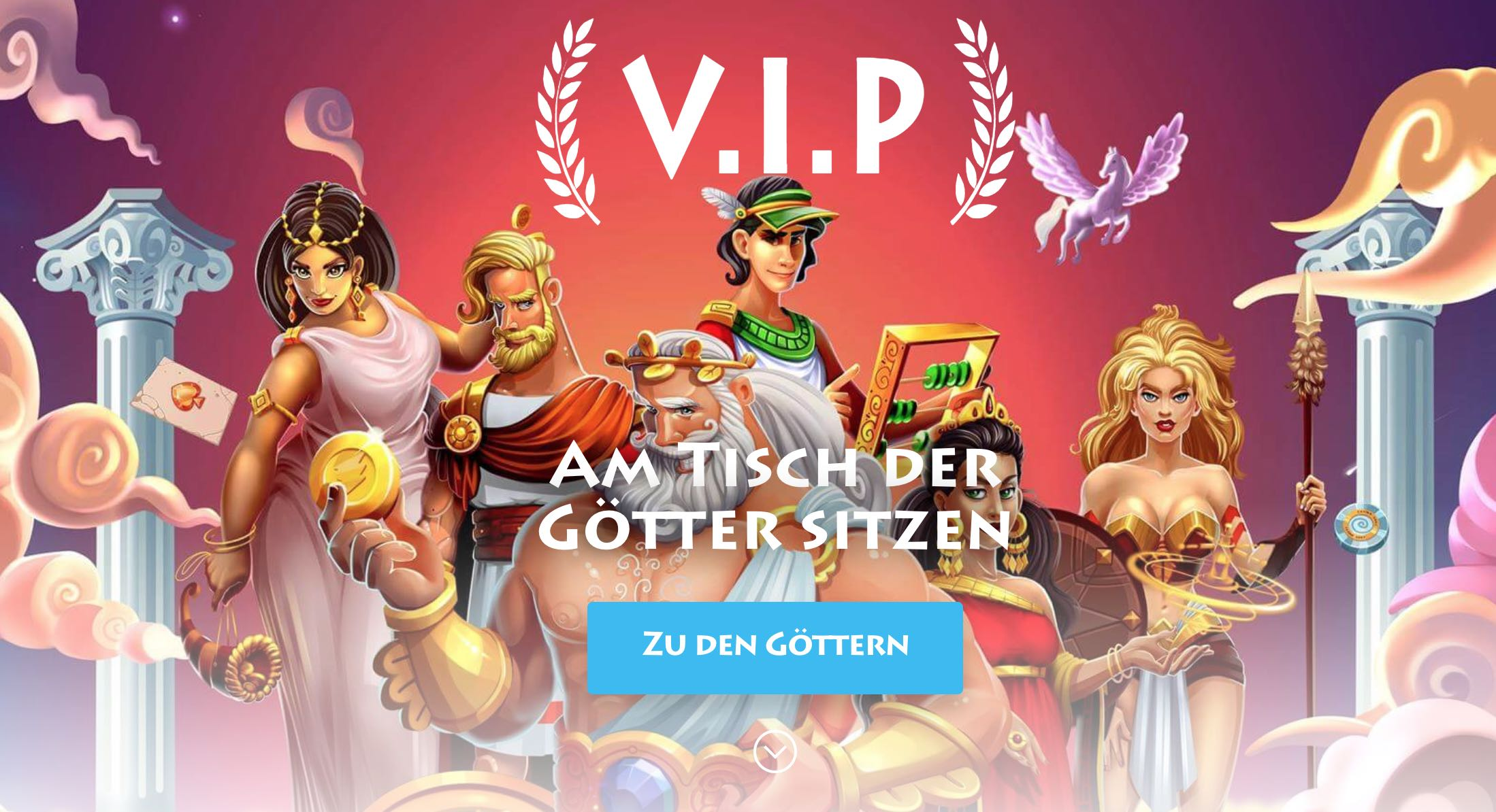 Casino Gods VIP-Programm