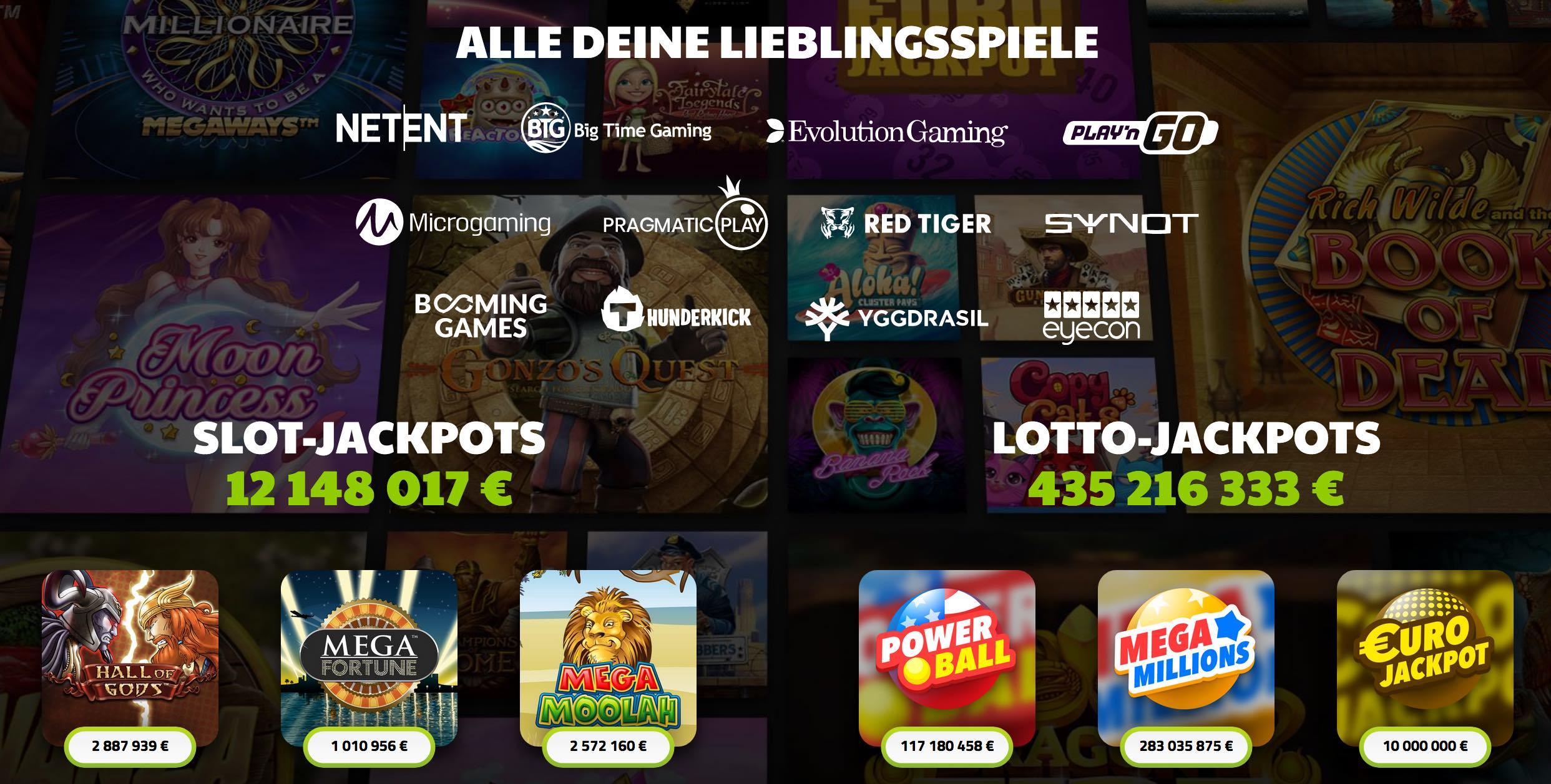 Progressive Jackpot Spielautomaten - Slots