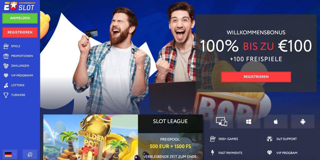 EUSlot Homepage