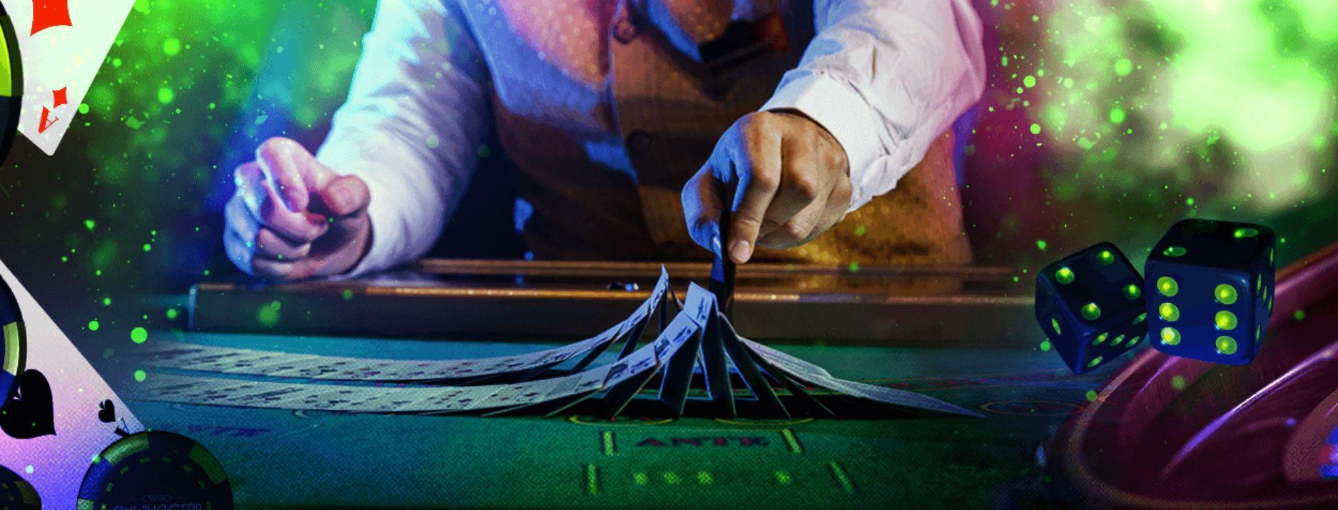 Live Dealer Spiele- Karten und Tischspiele