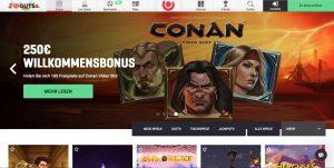 Guts Casino Homepage