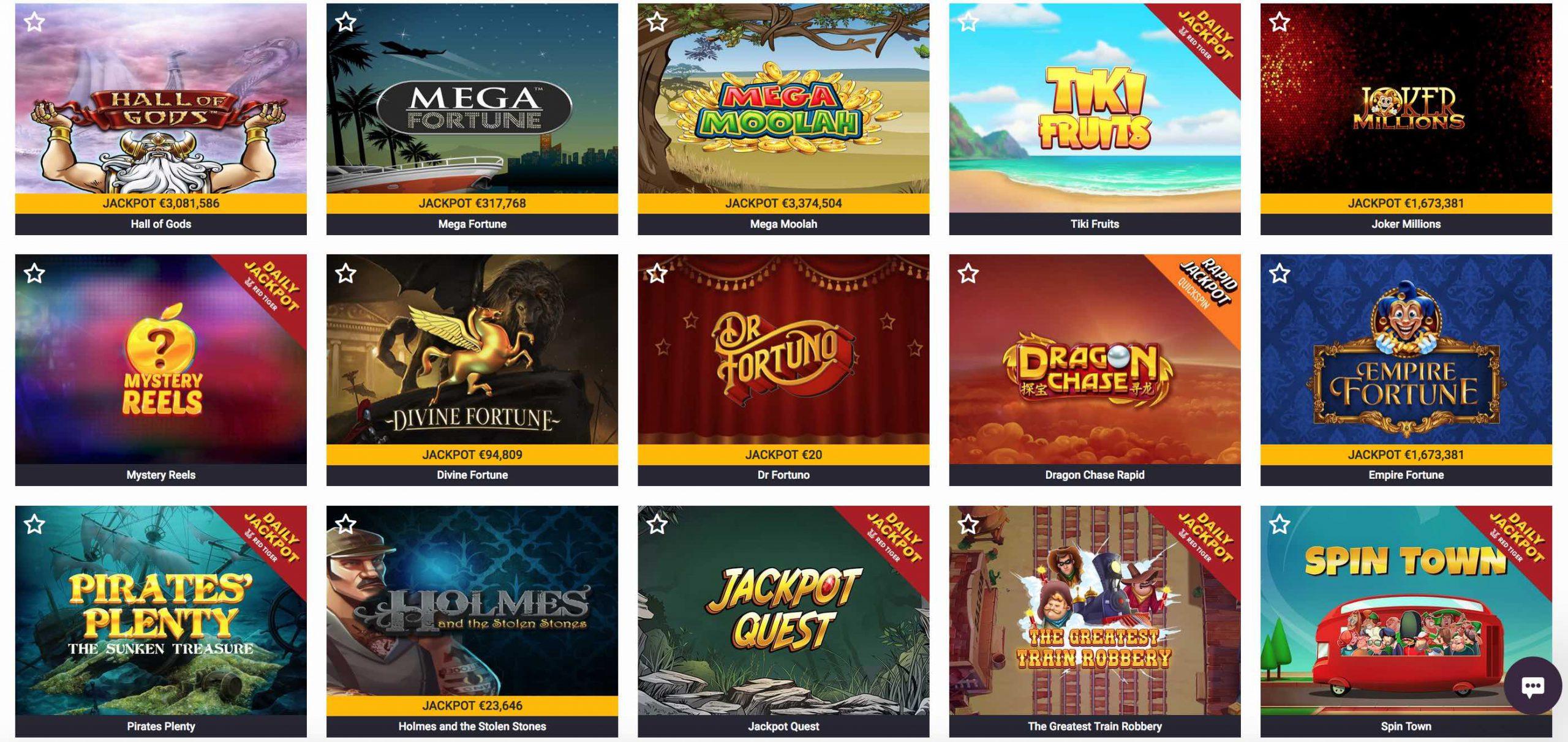 Guts Casino Jackpot Slots