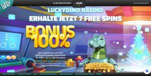 LuckyDino Homepage