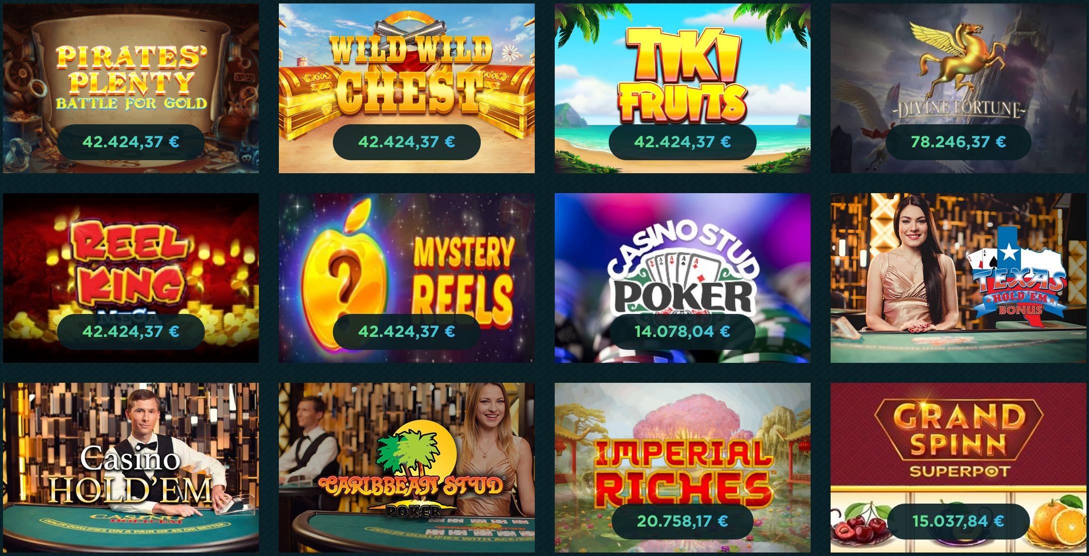 Mega Jackpot Slots mit Chancen auf Millionen Gewinne