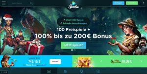 Spela - Casino Homepage