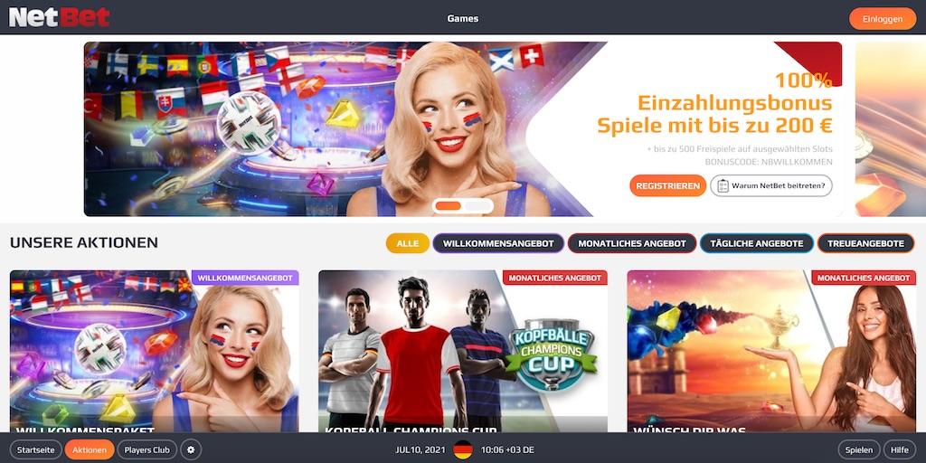 NetBet Online Spielothek
